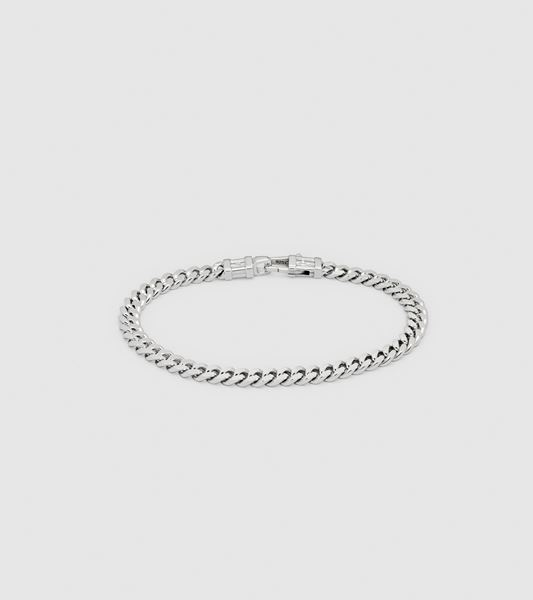 Bilde av TOM WOOD CURB BRACELET-SØLV
