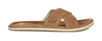Bilde av UGG BROOKSIDE SLIDE - CHESTNUT