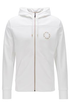Bilde av HUGO BOSS SAGGY CIRCLE - WHITE