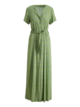 Bilde av HOLZWEILER OCEAN DRESS - GREEN