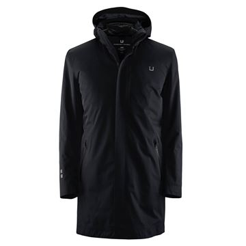 Bilde av UBR BLACK STORM COAT II - BLACK