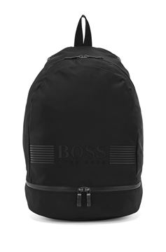 Bilde av HUGO BOSS PIXEL BACKPACK - BLACK SORT O-SIZE