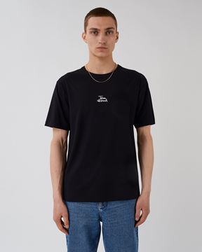 Bilde av TOM WOOD CHANGES TEE - PISTOL BLACK