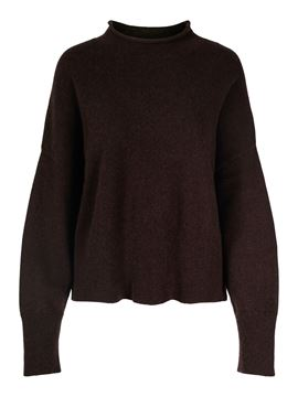 Bilde av ARNIE SAYS SWEATER - DARK BROWN