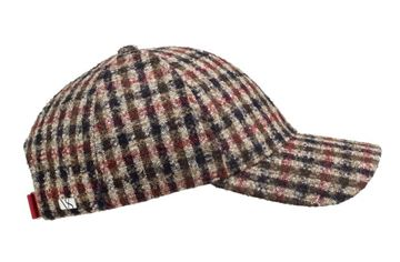 Bilde av VARSITY CAPS ALPACA - BROWN CHECK
