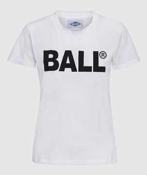 Bilde av BALL HLONG T-SHIRT - WHITE