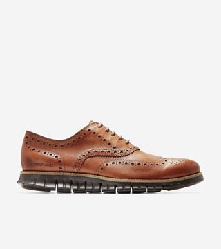 Bilde av COLE HAAN ZEROGRAND WT OXFORD - BROWN