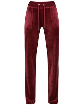 Bilde av JUICY COUTURE DEL RAY VELOUR PANT - CAB