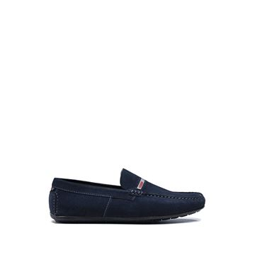 hugo boss moccasiner marine