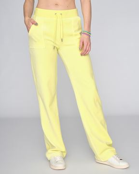 juicy couture bukse lys gul